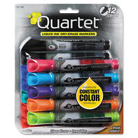 Quartet Enduraglide Dry Erase Marker Chisel Tip Assorted Colors 12/set 500120m on sale