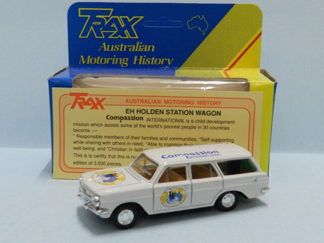 TRAX EH HOLDEN  STATION WAGON COMPASSION  Mint Boxed  With Certificate