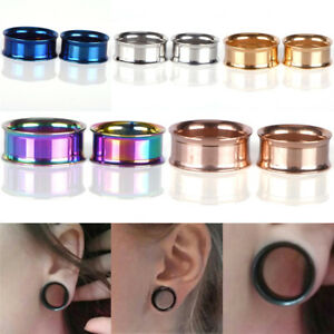 Stainless-Steel-Screw-Ear-Gauges-Flesh-Tunnels-Plugs-Stretchers-Expander-PY