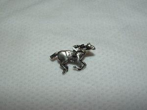 PATCH-ONE-EYED-HORSE-JOCKEY-RACING-SILKS-PIN-KENTUCKY-DERBY-BELMONT-STAKES
