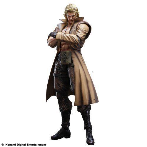 Square Enix Metall Gear Solid Spiel Kunst Kai Flüßigkeit Schlange Figur Neu Door