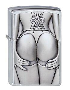 ZIPPO-BENZINA-ACCENDINO-Stocking Girl emblema-Super SeXy - 1300116 -