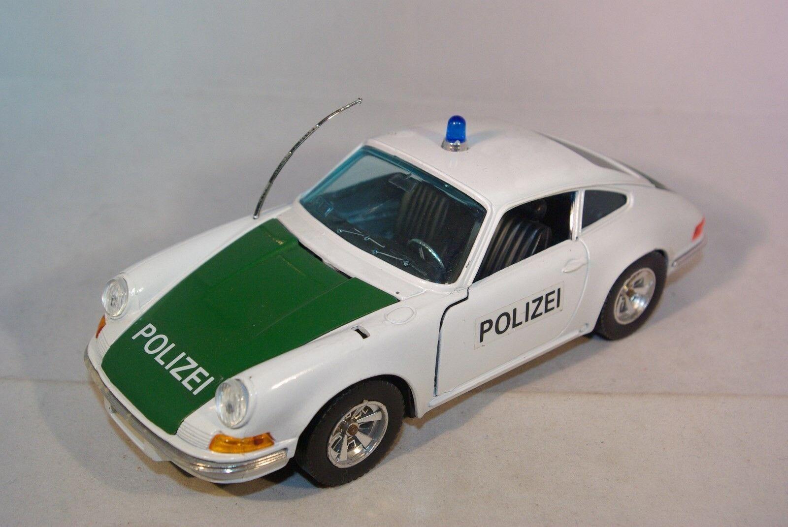 BBURAGO BURAGO MARTOYS 102 PORSCHE 911 POLIZEI NEAR MINT RARE SELTEN RARO