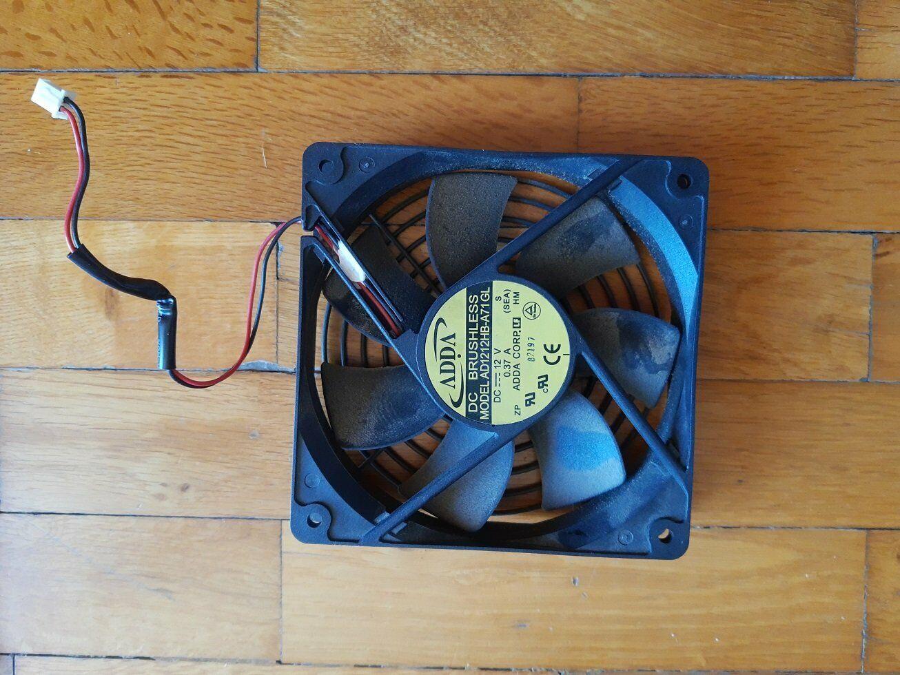 ADDA AD1212HB-A71GL 120x120x25mm 2pin Cooling Fan