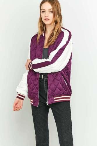 Outfitters Jacket Lilla Bomber Light 8944755396723 M Quilted Baseball Dark Før Urban d7fRqd
