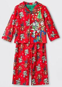 Toy Story Christmas Pajamas Size 4T,5T Boys Woody Buzz ...