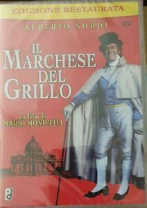 Il-MARCHESE-DEL-GRILLO-DVD-ALBERTO-SORDI-EDIZIONE-RESTAURATA-NUOVO-SIGILLATO