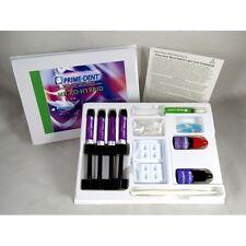 Dental Composite Light Cure Micro Hybrid Resin Kit 4 Prime Dent