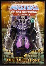 "2011 MATTEL MOTU MASTERS OF THE UNIVERSE FACELESS ONE 6"" ACTION FIGURE MOC"