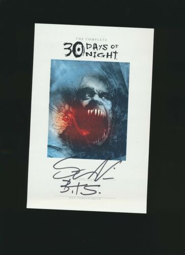 30 days of Night Card Signed by Steve Niles & Ben Templesmith