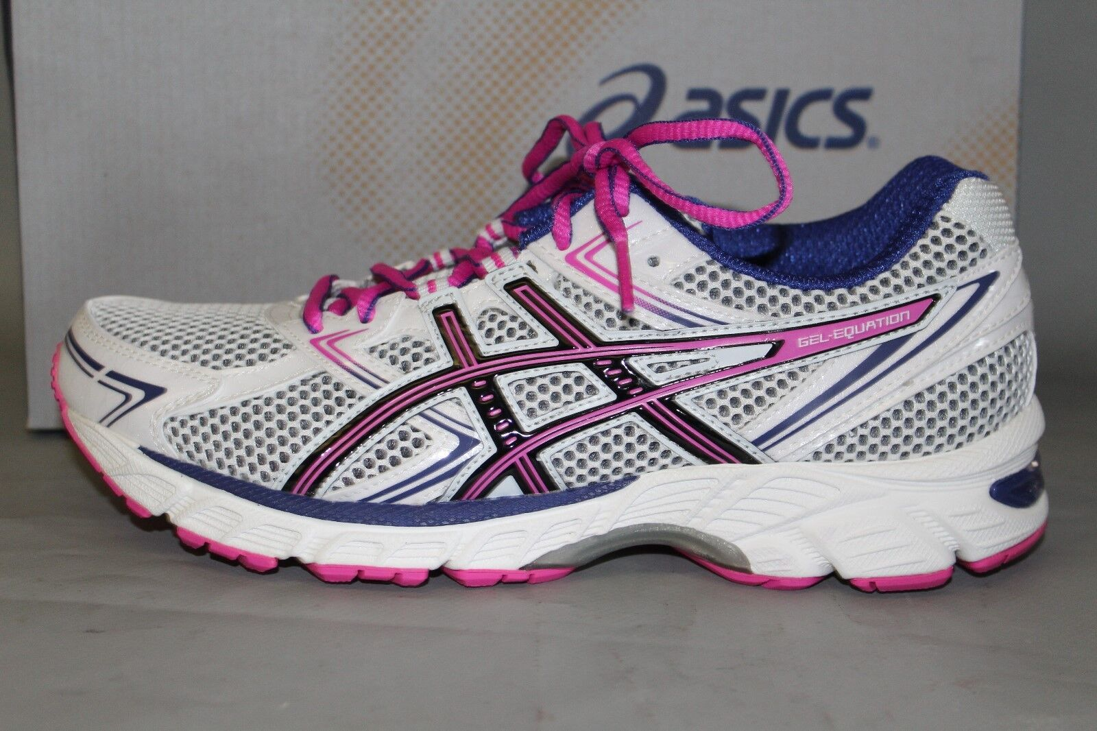 NEW Women's Asics Supportive Size 9 Medium, Gel-Equation 7 Supportive Asics Athletic Shoes 002c64