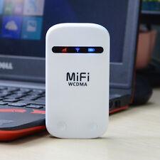 Portabl Mobile Hotspot 3G WiFi Modem Wireless MiFi Router for WCDMA SIM Card