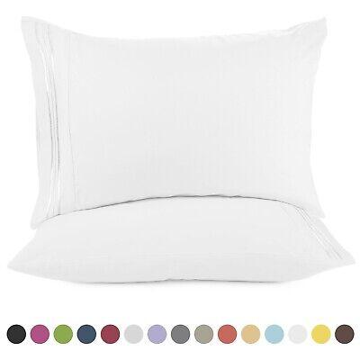 1800 Pillow Case Set Queen (standard) or King Pillowcase Set of 2 Pillow Cases
