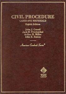 Civil-Procedure-Cases-and-Materials-American-Casebook-Series