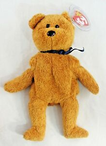 dc032bf0c67 Ty Beanie Baby Fuzz the Bear 8.5