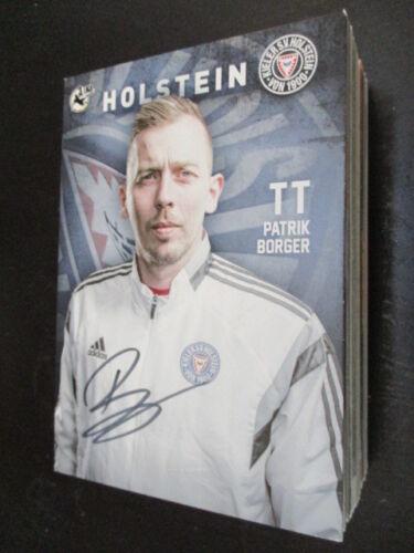 67742 Patrik Borger Holstein Kiel original signierte Autogrammkarte