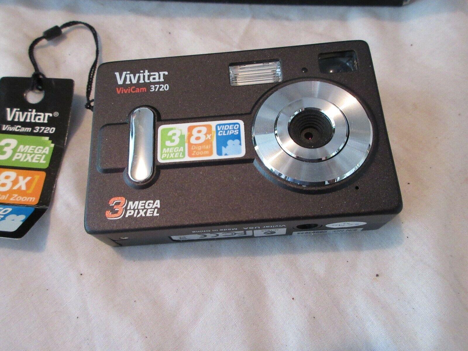 Vivitar , ViviCam 3720 Camera , New In Original Box , V