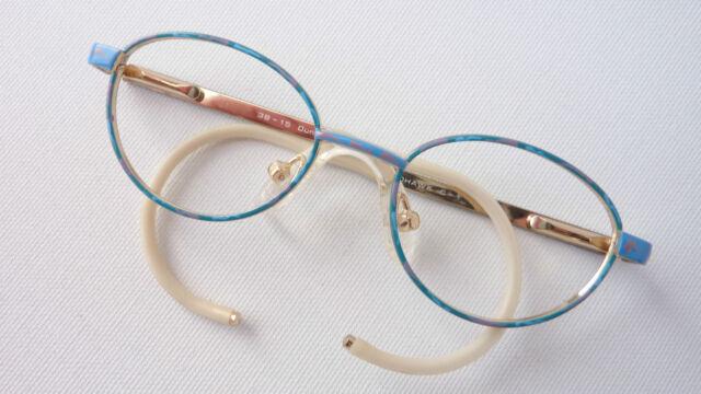Mohawk Kleinkinderbrille Babyfassung Kindergestell Federbügel Spiralbügel size K