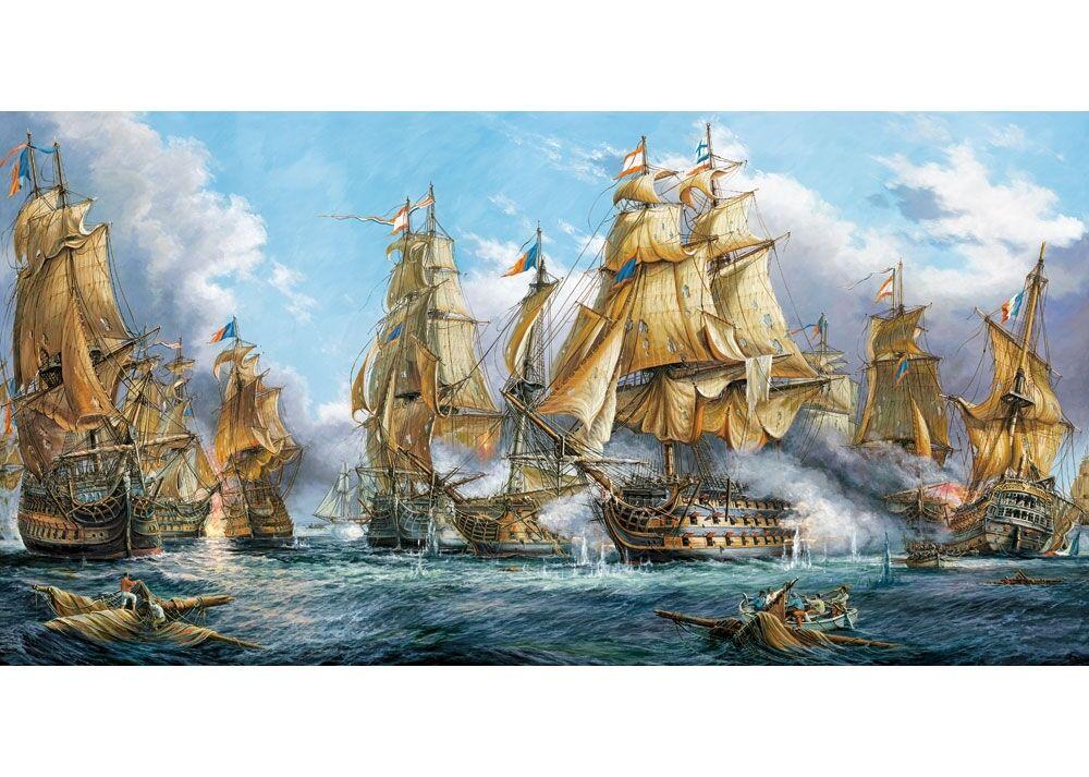 4000 pcs Puzzle Bataille Navale (Art) Castorland C-400102