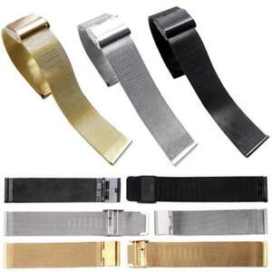 18-22-24mm-Neue-Mode-Milanaise-Edelstahl-Armbanduhr-Band-Gurt-NEU