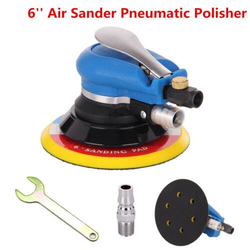 6/'/' 150mm Air Random Orbital Sander Pneumatic Disc Polisher For Car Body Sanding
