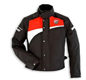 Ducati Damen Corse Logo Stoffjacke  Schwarz/Rot Größe 44