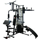 NEW MULTI STATION HOME GYM DUMBBELL FITNESS BENCH