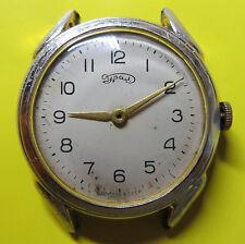 VINTAGE USSR URAL Big Size Russian Wrist Watch 1950's