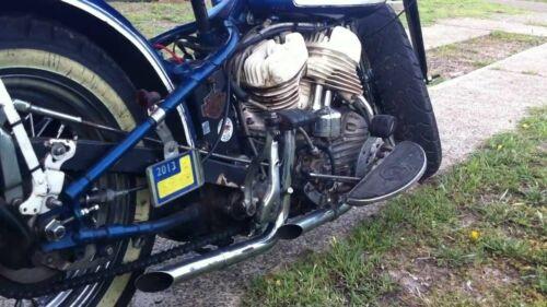 "36/"" Chrome 1-3//4/"" Drag Pipes Slash Headers Exhaust Harley Big Twin U UL Flathead"