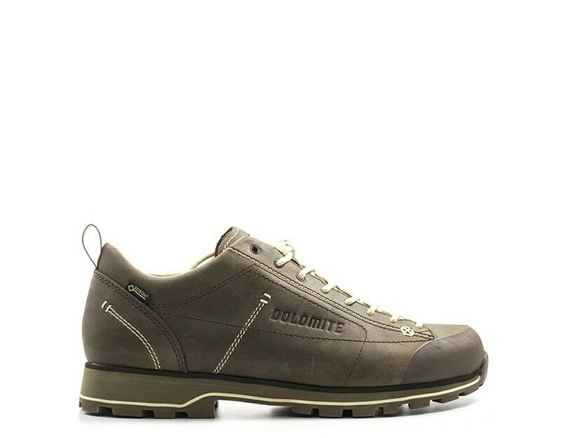 shoes DOLOMITE men Trekking  brown Pelle naturale 247959-BRW