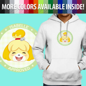 Animal-Crossing-Isabelle-Approved-Pocket-Camp-Pullover-Sweatshirt-Hoodie-Sweater