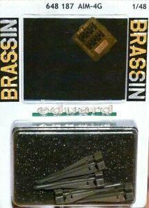 Eduard-Brassin-1-48-AIM-4G-Falcon-AIRCRAFT-Missiles-Model-Kit