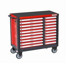 Stahlmayer - Werkzeugwagen Grand-Line mit 20 Schubfächern rot - Werkstattwagen