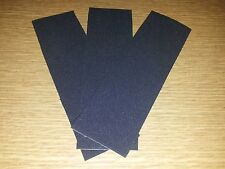 3 x FINGERBOARD / TECH DECK UNCUT GRIPTAPE / RIPTAPE PACK - WOODEN DECK TUNING