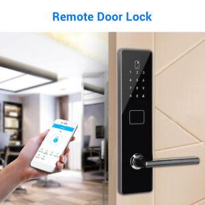 Details about BT-Smart Door Lock Keyless Home Security Waterproof Digital  Code Phone Keypad