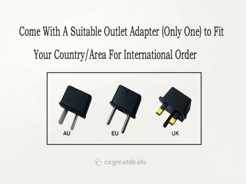 """12V 24W AC Adapter For Motorola XOOM 10901090T56MT1 109O-T56MT1 10.1/"""" Tablet PC"""