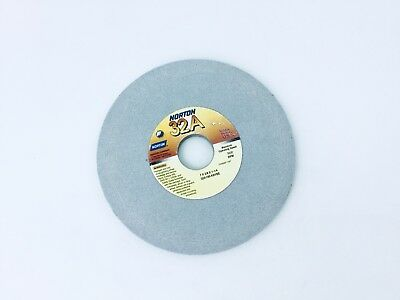 "Norton Beveled Edge Grinding Wheel 3/"" x 3//8/"" 1//4/"" arbor 38A120-K8VBE QTY 1"