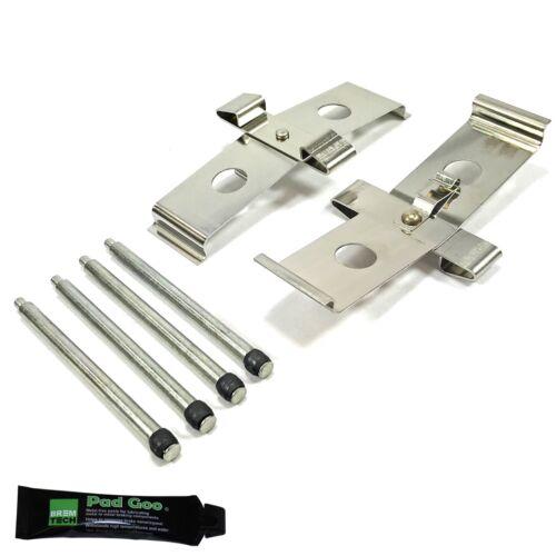 MITSUBISHI LANCER EVO 7 tipo BREMBO BPF1674F FRONT Brake Pad Pin Kit Si Adatta