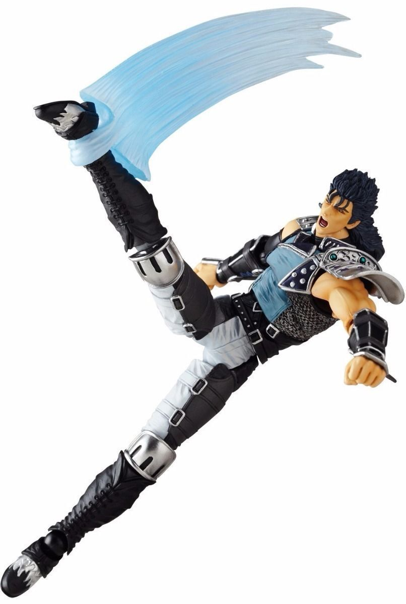 Revoltech Fist Of The North Star Revolución Revolución Revolución No.022 Rei Ken ´S Rage Versión Nuevo bc0573