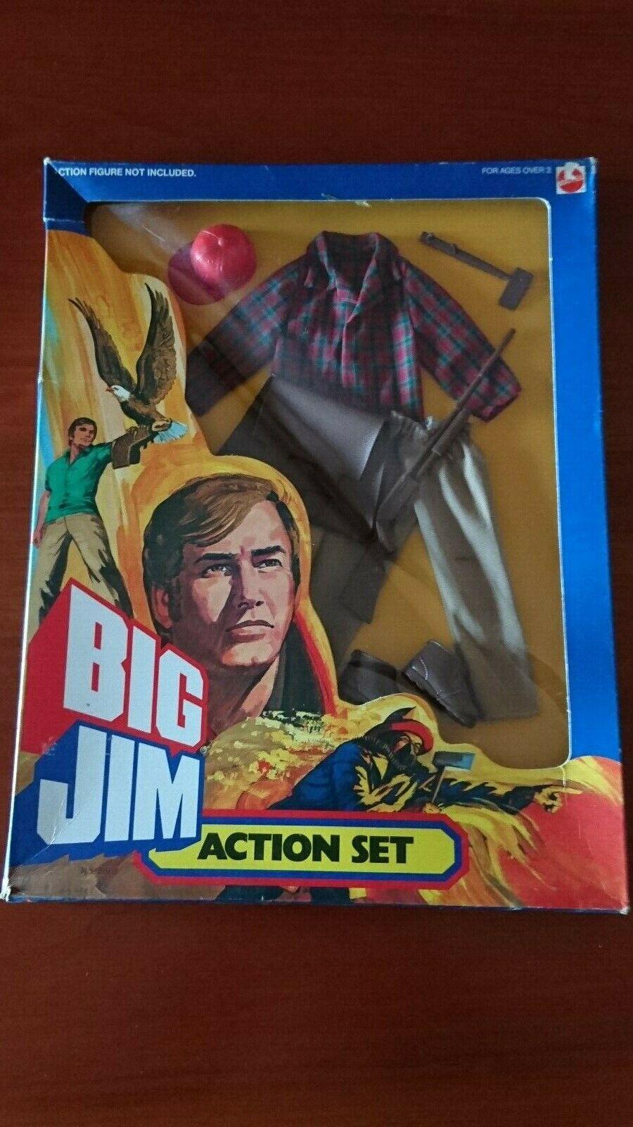 BIG JIM MATTEL Acción SET OUTFIT   8868   CACCIATORE   CON SCATOLA ORIGINALE