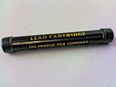 -2 erasers to packages-12 sticks 0.5mm lead Parker 0.5mm  lead and  Eraser Tube