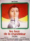 LES FEUX DE LA CHANDELEUR ! annie girardot affiche cinema 1972