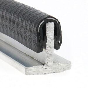 Rubber edge strip