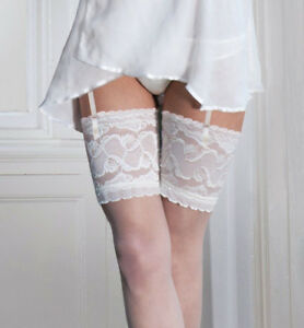 Couture-Soft-amp-Sheer-Bridal-Lace-Top-Stockings-15-den-M-L-Wedding-Hosiery