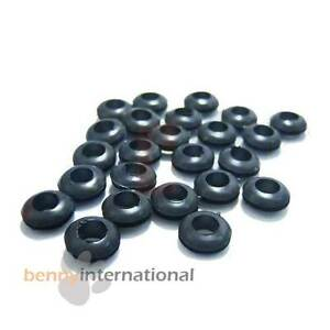 10x 5mm GROMMETS - Cable Hole 5mm &  Panel Hole 8mm Glassware Wiring Car 4WD