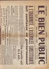 le bien public - 25 novembre 1945 -