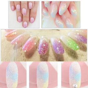 Mermaid Glitter Nail Hologramm Glitzer Pulver Puder Glitterstaub