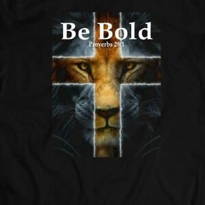 BE-BOLD-PROVERBS-28-1-CHRISTIAN-T-SHIRT-W-MANY-SIZES-AND-COLOR-OPTIONS