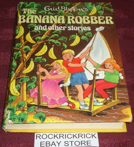 1 of 1 - ENID BLYTON'S - THE BANANA ROBBER AND OTHER STORIES -1987- (192 PAGES)