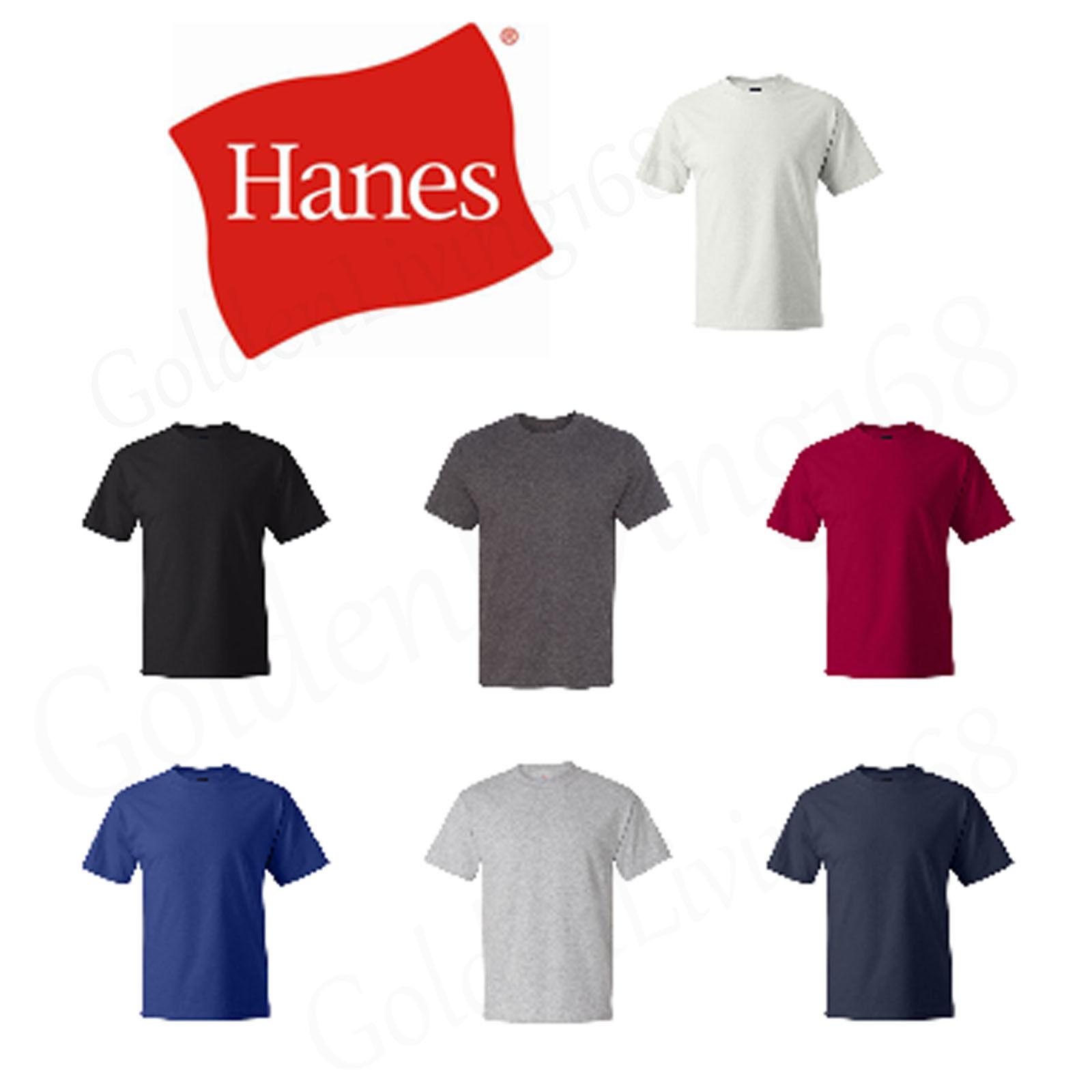 Hanes Beefy-T Tall T-Shirt 518T Short Sleeve Cotton LT XLT 2XLT 3XLT 4XLT